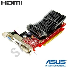 Placa video ASUS 4350, 512MB, 64-Bit DDR2, PCI Express x16, HDMI, DVI, VGA, Silent
