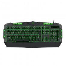 Tastatura Gaming T-DAGGER Torpedo, 19 taste fara conflict, Iluminare LED, 12 taste multimedia