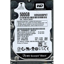 Hard Disk Laptop 500GB WESTERN DIGITAL WD5000BPKT SATA-II 7200RPM 16MB