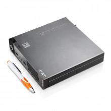 Calculator Lenovo M73 USFF Tiny, Intel Core i5 4570T 2.9GHz, 8GB DDR3, SSD 120GB, USB 3.0