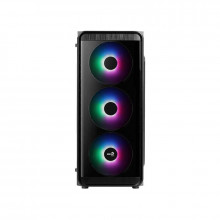 Carcasa Gaming Aerocool SI-5200 Frost, Middle Tower, USB 3.0, 3x 120mm LED