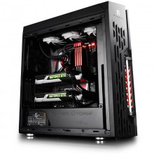 Carcasa Gaming Deepcool Gamer Storm Genome II, Cooler inclus, USB 3.0, Vent 4x 120mm, MiddleTower, Desigilat