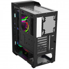 Carcasa Gaming Gamdias Talos M1 Lite, MiddleTower, USB 3.0, Panou transparent, 3x 120mm LED RGB