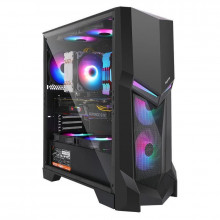 Carcasa Gaming Segotep Gank 3, Middle Tower, USB 3.0, Panou transparent