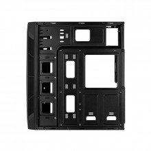 Carcasa Gaming Split TG RGB, MiddleTower, USB 3.0, Panou transparent