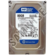 Hard Disk 80GB WESTERN DIGITAL WD800AAJS BLUE SATA2, 7200rpm