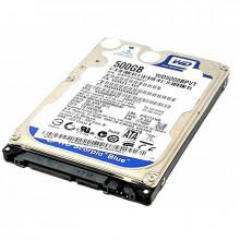 Hard Disk Laptop 500GB WD Scorpio Blue, SATA-II, 5400 RPM, cache 8MB, 9.5 mm