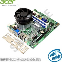 KIT Placa de baza Acer G43D01G1 + Intel Core 2 Duo E8400 3GHz + Cooler Procesor