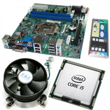 Kit Placa de baza Acer H61H2-AD, DDR3, Intel Core i5 2400 3.1GHz, 4 nuclee, Cooler inclus