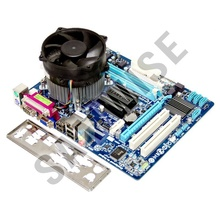 KIT Placa de baza Gigabyte GA-G41MT-S2PT, DDR3 + Intel Core 2 Quad Q8300 2.5GHz + Cooler Procesor 92mm