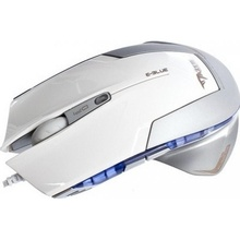 Mouse gaming E-Blue Cobra Mazer Type-R Optic, 2400DPI, alb, EMS124WH