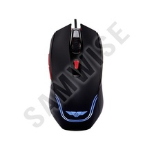 Mouse Gaming Newmen Galeoid 2200 Black, Wired, USB