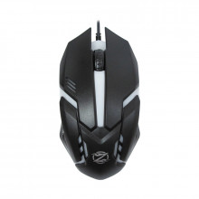 Mouse ZornWee Revival GM-02, Optic, USB, 1000 DPI, 6 butoane, Negru