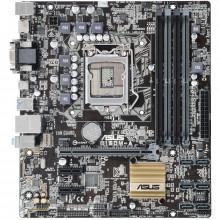 Placa de baza ASUS B150M-A, LGA 1151, 6th gen, 4x DDR4, 6x SATA III, 2x USB 3.0