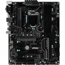 Placa de baza MSI Z270 PC MATE, LGA1151, 7th/6th gen, 4x DDR4, 6x SATA III, PCI-E x16 3.0, USB 3.0