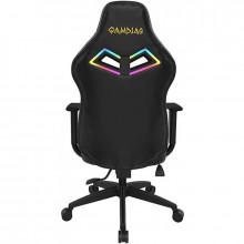Scaun Gaming Gamdias Achilles E3 L Iluminare RGB negru, Open Box