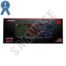 Tastatura Gaming FanTech K10, iluminata, USB, 8 taste multumedia