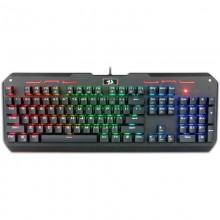 Tastatura Gaming Redragon Varuna Mecanica, Iluminare LED RGB, switch-uri outemu red