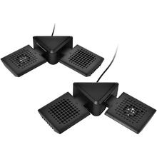 Thermaltake Satellite 2-in-1 Laptop, Notebook Cooler Pad cu Boxe incluse