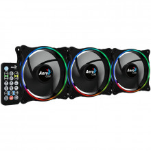 Ventilatoare Aerocool Eclipse 12 Pro ARGB 3 Fan Pack, 120 mm, telecomanda
