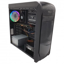 Calculator Gaming DW702, Intel Core i3 4160 3.6GHz, MSI H81M-P33, 8GB DDR3, 500GB, ATI R7 250 2GB DDR3 128-bit, 300W, DVD-RW
