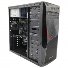 Calculator Gaming Inaza SysPro, Intel Core i5 3550P 2.1GHz, Pegatron IPMMB-FS, 8GB DDR3, SSD 120GB, 250GB, ATI HD 7570 1GB DDR5 128-bit, 300W, DVD-RW