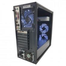 Calculator Gaming Redragon, Intel Core i5 2400 3.1GHz, GA-H61M-DS2H, 8GB DDR3, 500GB, Fujitsu GT 630 2GB DDR3 128-bit, DVI, 400W, DVD-RW