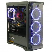 Calculator Gaming Segotep LUX II, Intel Core i7 2600 3.4GHz, Acer H61H2-AD, 16GB DDR3, SSD 240GB, 3TB, XFX RX 580 8GB DDR5 256-bit, DVI, HDMI, 500W