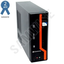 Calculator GATEWAY DS10G SFF, Intel Core 2 Duo E8400 3GHz, 4GB DDR3, 250GB, Video Intel GMA X4500 DVI, DVD-RW