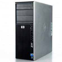 Calculator Incomplet HP Z400 Workstation, Intel Xeon QuadCore W3520 2.66GHz, 4x DDR3, SATA II, DVD, Cooler inclus
