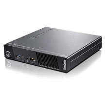 Calculator Lenovo M73 USFF Tiny, Intel Core i5 4430s 2.7GHz, 8GB DDR3, SSD 120GB, USB 3.0