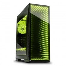 Carcasa Gaming Inter-Tech M-908, USB 3.0, Vent. incluse 3x 120mm LED RGB, Panou transparent
