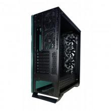 Carcasa Gaming Redragon Ironhide Black, USB 3.0, Vent. 6x 120mm, controller RGB cu telecomanda