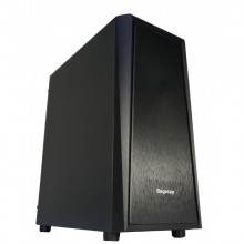 Carcasa Gaming Segotep Wider X2 Black, MiddleTower, USB 3.0, Vent. incluse 3x 120mm, Desigilat