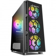 Carcasa Gaming Starfire RGB Tempered Glass, USB 3.0, 4x Vent. 120 mm LED RGB
