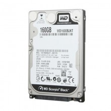 Hard disk Laptop WD Scotpio Black 160GB WD1600BJKT, 7200RPM, Buffer 16MB, SATA II
