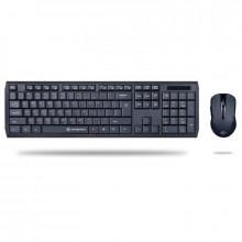Kit wireless tastatura si mouse Gofreetech GFT-S005 negru
