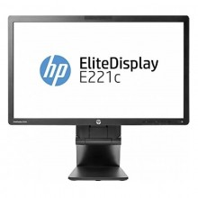 "Monitor LED 21.5"" HP EliteDisplay E221C, Grad A, 1920x1080, 7ms, VGA, DVI, Cabluri Incluse"