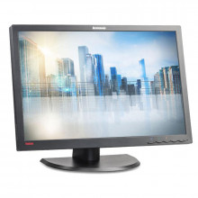 "Monitor LED IPS 24"" Lenovo LT2452P, 1920x1200, Full HD, 7ms, VGA, DVI, DisplayPort, USB, Cabluri incluse"
