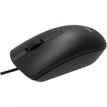 Mouse Delux M322 Black, USB, 1500dpi