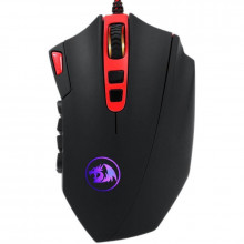 Mouse Gaming Redragon Perdition2 Black, 24000 dpi, 12000 FPS, Led Multi-Color, 19 butoane