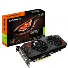 Placa video GIGABYTE GeForce GTX 1070 Windforce OC, 8GB GDDR5 256-bit, HDMI, DVI, 3x DisplayPort