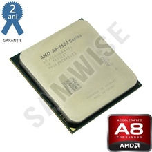 Procesor AMD Trinity, Vision A8 5500 3.2GHz (Turbo 3.7GHz) Quad Core, Video Radeon HD 7560D