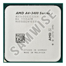 Procesor AMD Vision A4-3400 2.7GHz, Socket FM1, Video integrat HD6410D, DX11