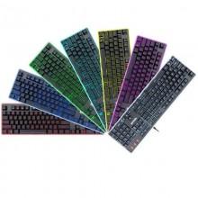 Tastatura Gaming Redragon Dyaus 2 Iluminare RGB, Taste fara conflict, 12 Taste multimedia