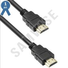 Cablu DeTech HDMI tata - HDMI tata, 1.8m, Negru