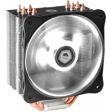 Cooler CPU ID-Cooling SE-214L-W LED Alb, Ventilator 130mm, 4x Heatpipe-uri cupru, MultiSocket