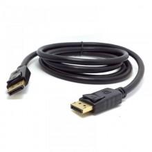 Cablu DeTech, DisplayPort Male - Male, 14+1 cupru, lungime 3 metri, negru
