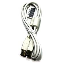 Cablu imprimanta alb, cu protectie, lungime 2m