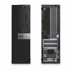 Calculator Dell 3040 SFF, Intel DualCore G4400 3.3GHz, 8GB DDR3, 500GB, HD Graphics 530, USB 3.0